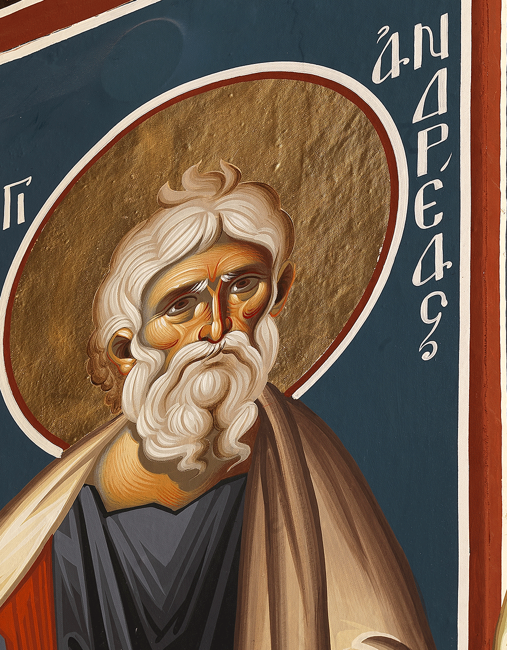 Ukrainian Orthodox Church of St. Anne: Святий Апостол Андрій Первозванний • Holy Apostle Andrew, the First-Called