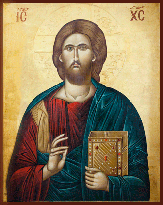 Ukrainian Orthodox Church of St. Anne, Toronto (Scarborough), Ontario: Icon of Jesus Christ