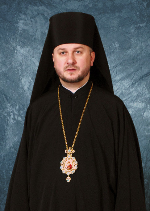 Ukrainian Orthodox Church of St. Anne, Toronto (Scarborough) Ontario, Bishop Andriy