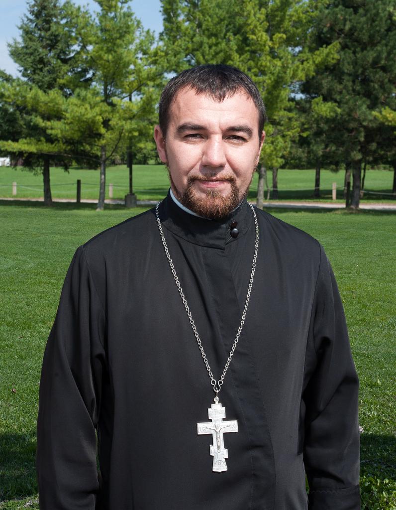 Reverend Father Volodymyr Feskiv, Parish Priest, Ukrainian Orthodox Church of St. Anne, Toronto (Scarborough), Ontario